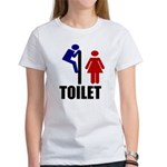 Toilet Peek Women's T-Shirt