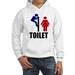 Toilet Peek Hooded Sweatshirt