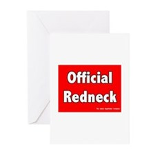 Official Redneck Greeting Cards (Pk of 10)