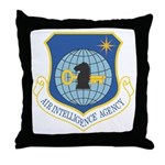 Air Intelligency Agency Throw Pillow