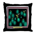 P. pyralis In Synch Throw Pillow