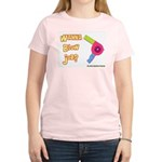 Hairdresser Blow Job Women's Pink T-Shirt