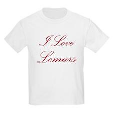 I Love Lemurs T-Shirt