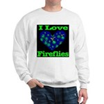 I Love Fireflies Sweatshirt