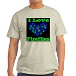 I Love Fireflies Light T-Shirt