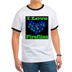 I Love Fireflies Ringer T