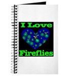I Love Fireflies Journal