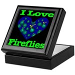 I Love Fireflies Keepsake Box