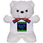 I Love Fireflies Teddy Bear