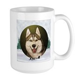 Siberian Husky &amp; dog team Mug