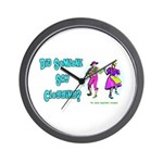 Clogging Clogger Wall Clock