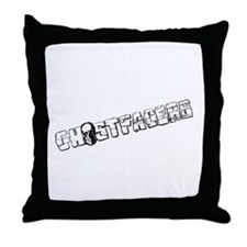 Cute Ghosthunter Throw Pillow