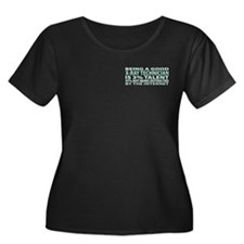 Good X-Ray Technician Women's Plus Size Scoop Neck