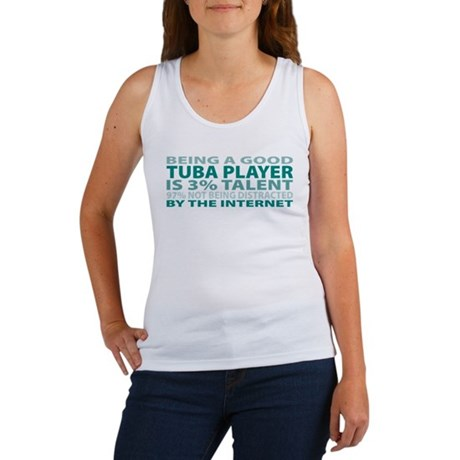 Good Tuba Player Women's Tank Top