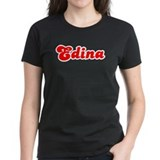 Retro Edina (Red) Tee