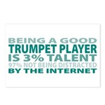 Good Trumpet Player Postcards (Package of 8)