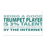 Good Trumpet Player Mini Poster Print
