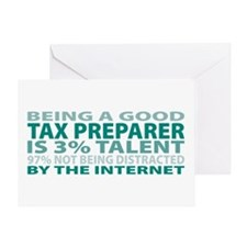 Good Tax Preparer Greeting Card
