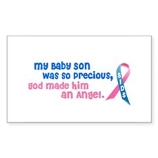 Angel 1 (Baby Son) Rectangle Decal