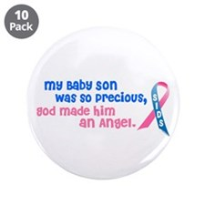 "Angel 1 (Baby Son) 3.5"" Button (10 pack)"
