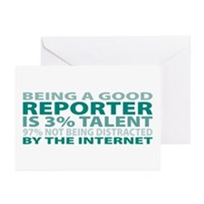 Good Reporter Greeting Cards (Pk of 10)