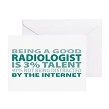 Good Radiologist Greeting Card