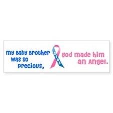 SIDS Angel 1 (Baby Brother) Bumper Sticker (10 pk)