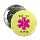 Large Yellow Epi-Pen Button