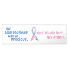 SIDS Angel 1 (Baby Daughter) Bumper Bumper Sticker