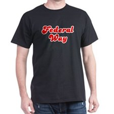 Retro Federal Way (Red) T-Shirt
