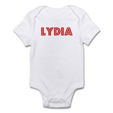 Retro Lydia (Red) Infant Bodysuit