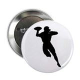 "Football Player 2.25"" Button (100 pack)"