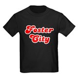Retro Foster City (Red) T