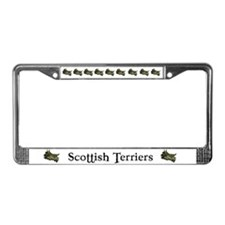 Spectacular Scottish Terrier License Plate Frame