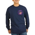 Mason Police Officer Long Sleeve Dark T-Shirt