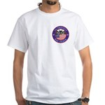 Mason Police Officer White T-Shirt