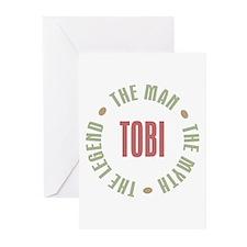 Tobi Man Myth Legend Greeting Cards (Pk of 10)