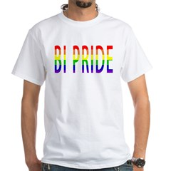 Bi Pride - Gay Pride White T-Shirt