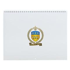 ALLAIN Family Crest Wall Calendar
