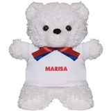 Retro Marisa (Red) Teddy Bear
