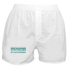 Good Philosopher Boxer Shorts