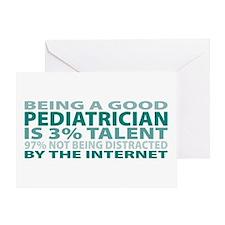 Good Pediatrician Greeting Card