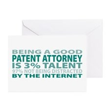 Good Patent Attorney Greeting Cards (Pk of 20)
