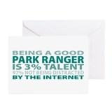 Good Park Ranger Greeting Cards (Pk of 20)