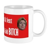 Hot Coffee - Cold Clinton Mug