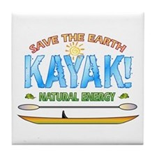 Kayak Energy Tile Coaster
