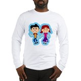 Sock Hop Kids Long Sleeve T-Shirt