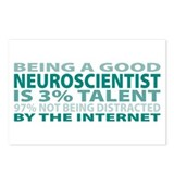 Good Neuroscientist Postcards (Package of 8)