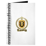 BERGERON Family Crest Journal