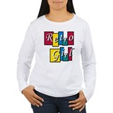 Riyah-Li Designs Retro Girl T-Shirt